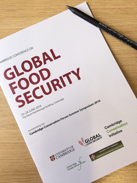 Cambridge Conference on Global Food Security 2016's image