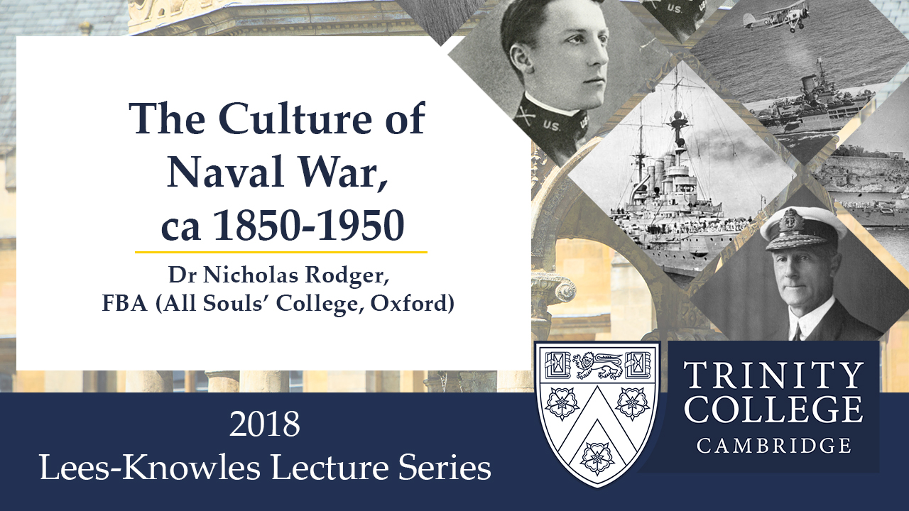 Lee Knowles Lectures 2018 's image
